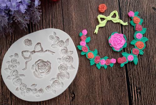 Flower decorative  Silicone Mold Set