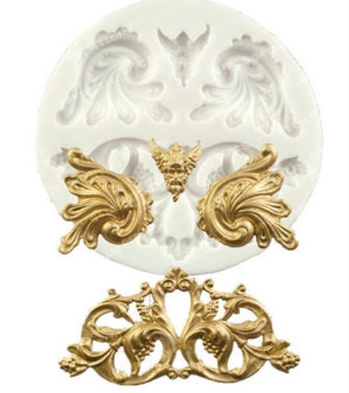 Scroll decorative  Silicone Mold Set
