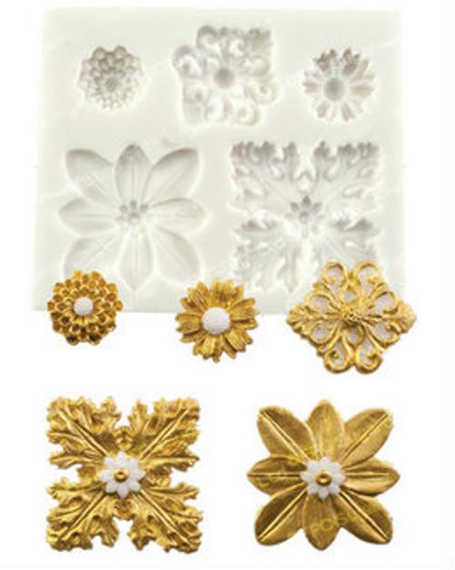Accent decorative  Silicone Mold Set