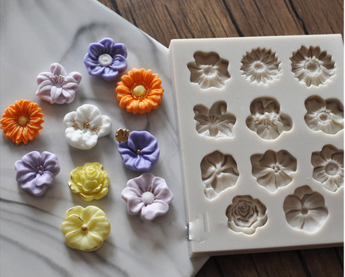 Assorted FLower  Mold