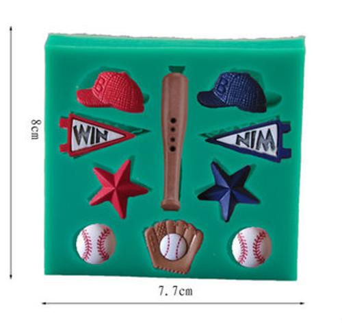 Base Ball  Mold  Set