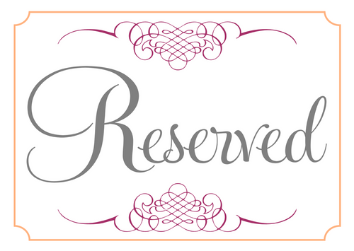 reserved listing Beth  ( no Dis)