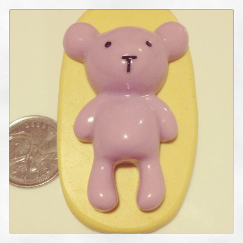 Xl Teddy Bear Mold Silicone