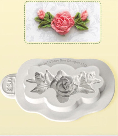 Flower Rose Bud Silicone Mold