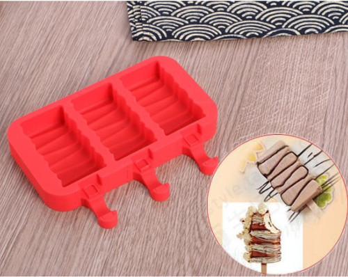 Cake Slice  Ice Cream Silicone Mold