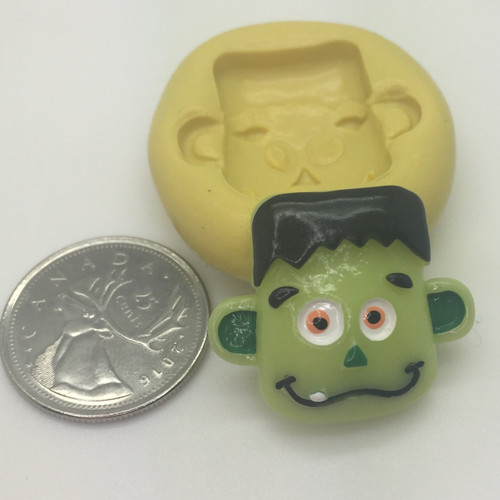 Franinstein Face Silicone Mold