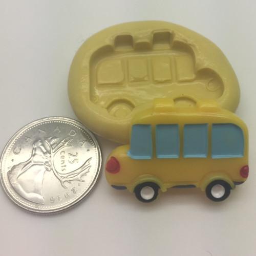 School bus Silicone Mold