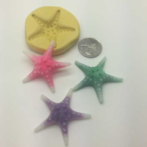 Star Fish Silicone Mold