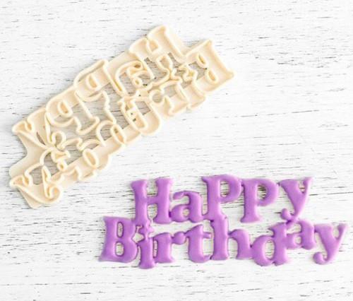 Happy Birthday Cutter