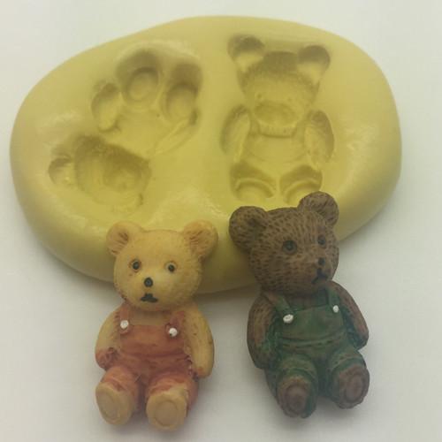 Teddy Bear Small   Silcione Mold