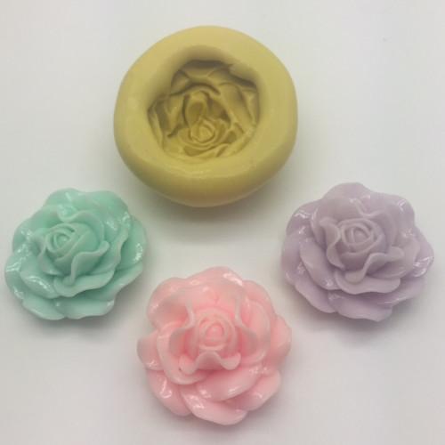 ROSE Floribunda Silicone Mold
