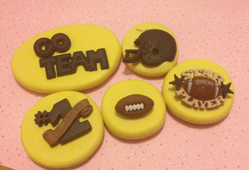 Football Team Mold Set Silicone