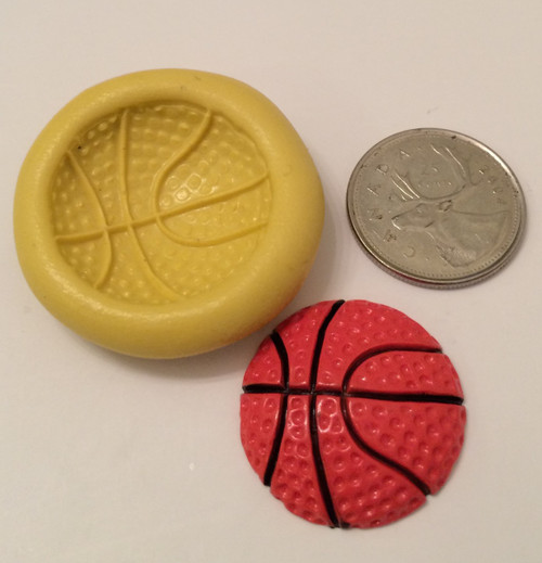 Basket Ball Silicone Mold