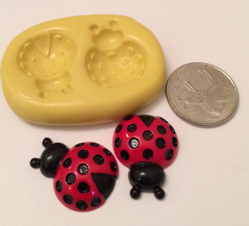 Lady Bug Animal Silicone Mold Set