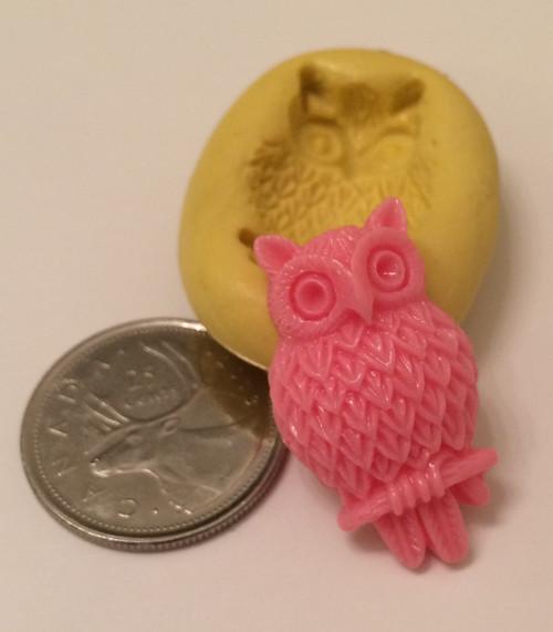 Owl Animal Silicone Mold