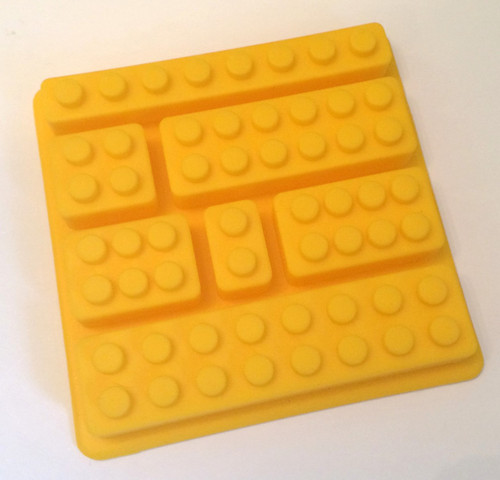 Lego Block 7 Cavity Mold