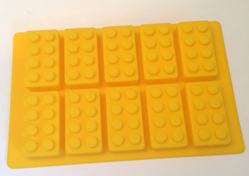 Lego Block 10 Cavity Mold