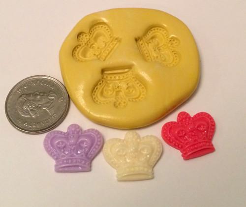 Mini Crown Set Silicone Mold Set