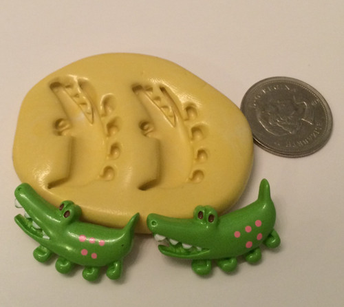 Alligator Silicone Mold Set