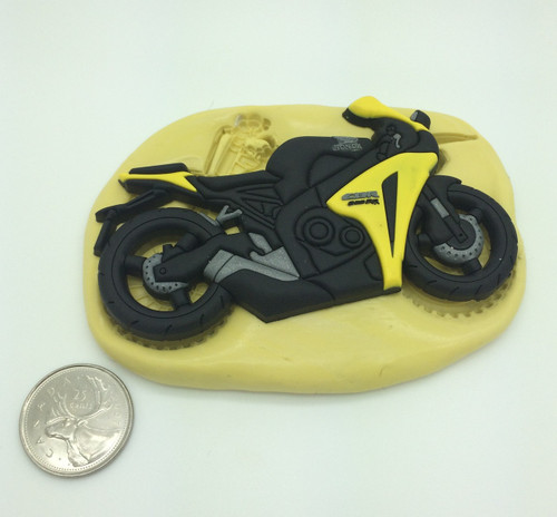 Large Bike Motorcycle Silicone Mold  #4