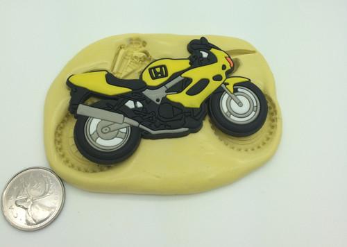 Large Bike Motorcycle Silicone Mold  #8