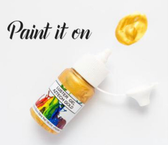 ROLKEM GEL LUSTRE PAINT AZTECH GOLD (15ML)