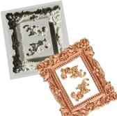 Xl Silicone Frame Mold 4inch