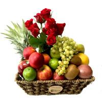 Roses + Fruit Only Fruit Basket