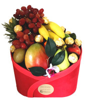 Fruit Basket Gift + Ferrero Chocolates