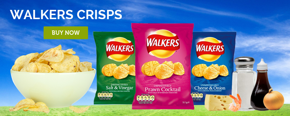 Walkers Crisps Online - British Food Depot