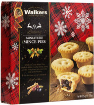 Walkers Luxury Mini Mincemeat Pies 9 Pack 225g