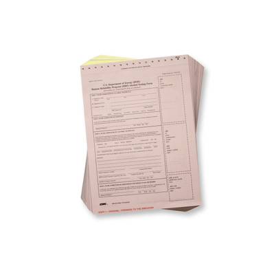 DOE Breath Alcohol Testing Forms - Intoxilyzer 8000