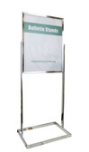"""Premium Poster Stand Display - Chrome - 22""""w x 28""""h 1/Pack"""