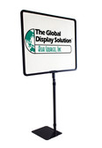 "Adjustable height Sign Holder - Displays 14"" x 11"" Sign"