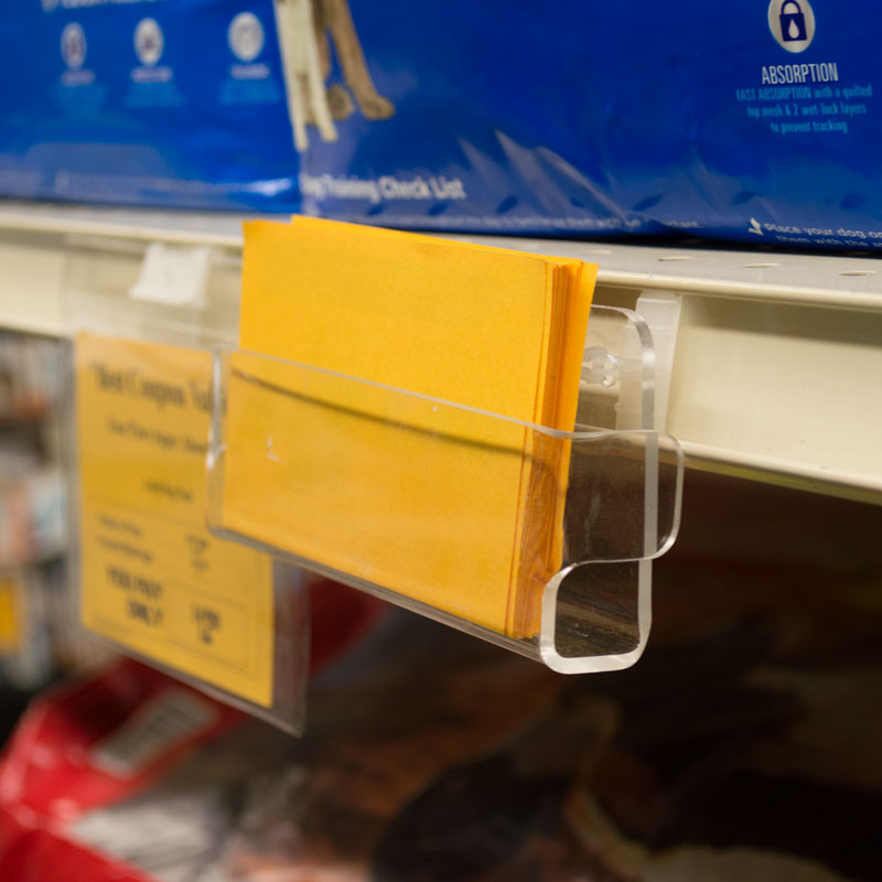 Coupon Recipe Holders For Retail Shelves The Global