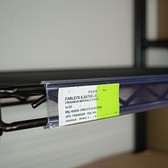 Wire ticket Holder - For Metro Shelving or similar wire shelving