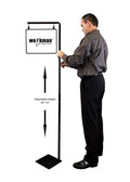 "Pallet Sign Holder Combo Kit - Black - Includes 14""w x 11""h Sign Frame 1/Pack"