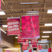 Retract 36 - Open Ceiling Banner Display - No Ladders 1/Pack