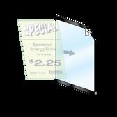 """Reusable Frame - 8.5""""w x 11""""h 1/2"""" Black Border 5/Pack"""