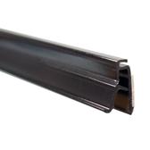 """Adhesive Locking Poster Grip - Black - 48"""" w 25/Pack"""