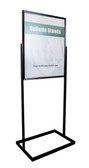"""Premium Poster Stand  - Black - 22""""w x 28""""h Signs 1/Pack"""