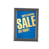 "Aluminum Snap Sign Frame - Black - 22""w x 28""h 1/Pack"