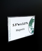 "Magnetic Sign Protector -  5.5""w x 3.5""h 100/Pack"