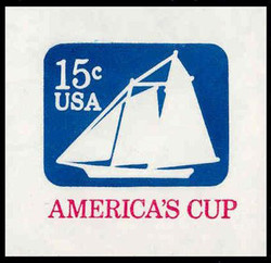 U.S. Scott # U 598 1980 15c America's Cup - Mint Cut Square