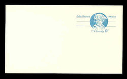 U.S. Scott # UX  64/UPSS #S81a, 1972 6c John Hanson - Patriot Series - Mint Postal Card, SMOOTH PAPER (See Warranty)