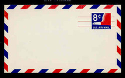 U.S. Scott # UXC  9 1968 8c Stylized Eagle - Mint Postal Card