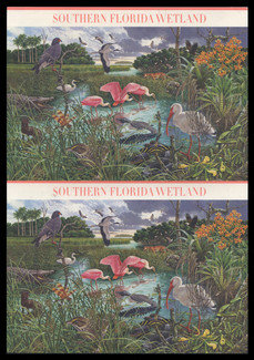 U.S. Scott # UX 478-87, 2006 39c Southern Florida Wetland - Mint Picture Postal Card Set of 10