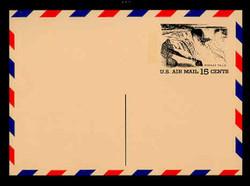 U.S. Scott # UXC 13, 1972 15c Tourism - Niagara Falls - Mint Postal Card