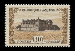 FRANCE Scott #  670, 1951 Chatreau du Clos, Vougeot