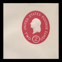 U.S. Scott # U 533, 1950 2c Washington, Die 3 - Mint Full Corner